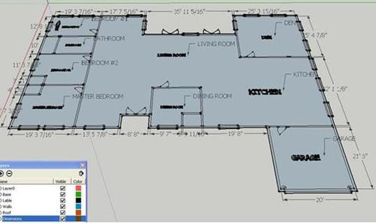 Our class s t e m class 2 0 for Floor plans in sketchup